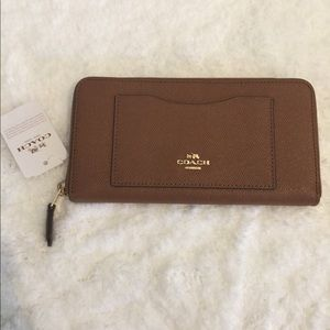 Nwt Coach Leather Wallet